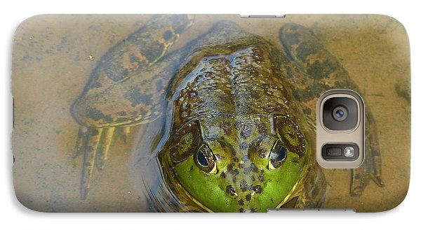 Galaxy Case featuring the photograph Frog Of Lake Redman by Donald C Morgan