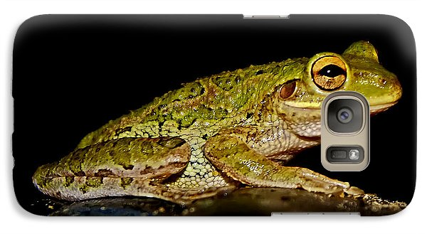Galaxy Case featuring the photograph Cuban Tree Frog by Olga Hamilton