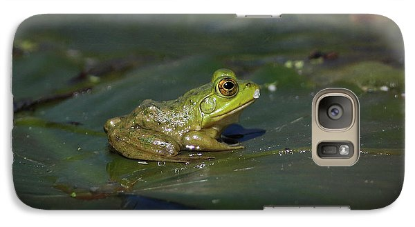 Galaxy Case featuring the photograph Froggy 2 by Douglas Stucky