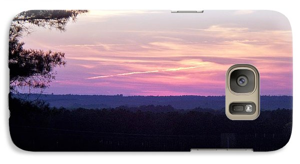 Galaxy Case featuring the photograph From Here To Eternity by Betty Northcutt