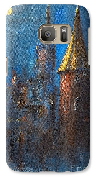 Galaxy Case featuring the painting From Medieval Times by Arturas Slapsys