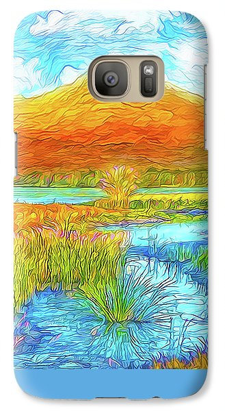 From Sky To Mountain To Stream - Boulder County Colorado Galaxy S7 Case by Joel Bruce Wallach
