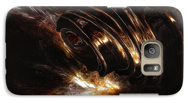 Galaxy Case featuring the digital art From The Beyond by Isabella F Abbie Shores FRSA