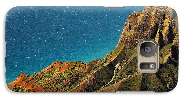 Galaxy Case featuring the photograph From The Hills Of Kauai by Debbie Karnes