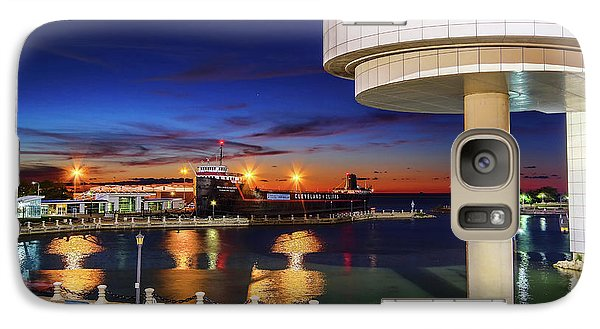 Galaxy Case featuring the photograph From The Rock Hall by Brent Durken