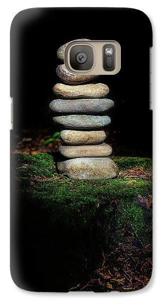 Galaxy Case featuring the photograph From The Shadows by Marco Oliveira