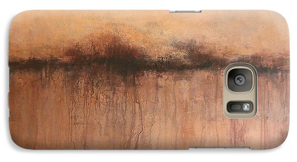 Galaxy Case featuring the painting From Whence We Came by Buck Buchheister