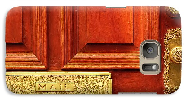Galaxy Case featuring the photograph Front Door French Quarter by KG Thienemann