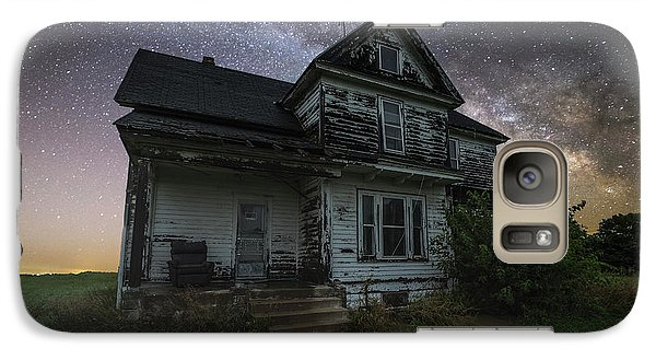 Galaxy Case featuring the photograph Front Porch  by Aaron J Groen