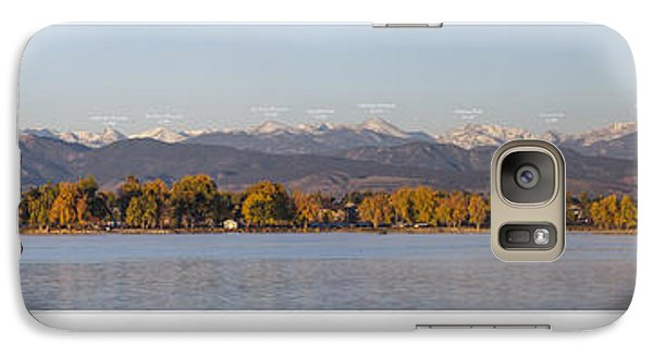 Front Range With Peak Labels Galaxy S7 Case