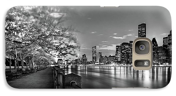 Galaxy Case featuring the photograph Front Row Roosevelt Island by Az Jackson