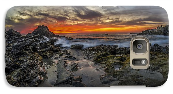 Galaxy Case featuring the photograph Front Yards Of Laguna Beach by Sean Foster