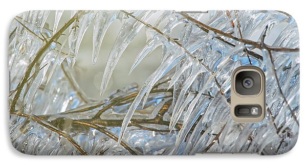 Galaxy Case featuring the photograph Frostbite.. by Nina Stavlund