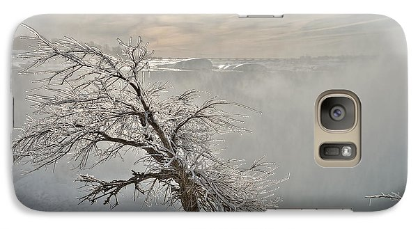 Galaxy Case featuring the photograph Frostbite by Sebastien Coursol