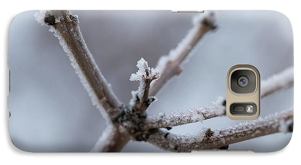Galaxy S7 Case featuring the photograph Frosted Morning by Ana V Ramirez