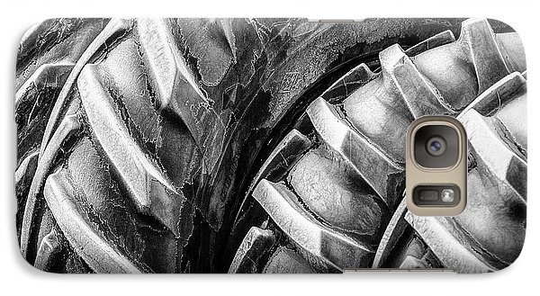 Galaxy Case featuring the photograph Frosted Tires by Brad Allen Fine Art