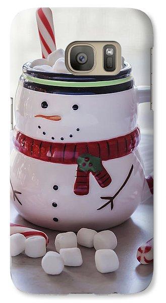 Galaxy Case featuring the photograph Frosty Christmas Mug by Kim Hojnacki