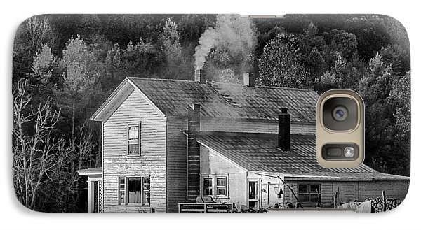 Galaxy Case featuring the photograph Frosty Morning by Denise Romano