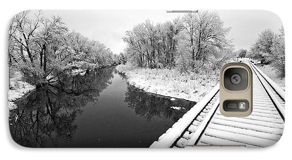 Galaxy Case featuring the photograph Frosty Morning On The Poudre by James Steele