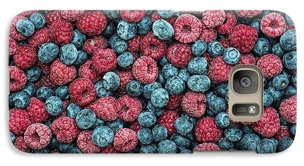 Frozen Berries Galaxy S7 Case by Tim Gainey