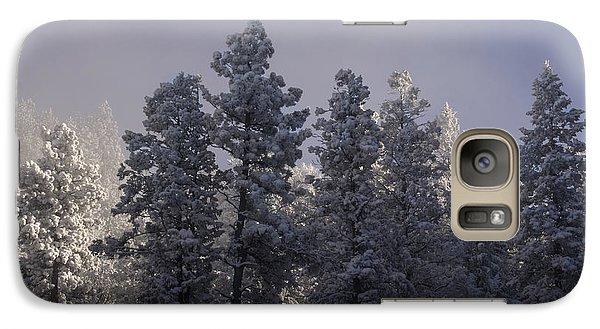 Galaxy Case featuring the photograph Frozen by Ellen Heaverlo