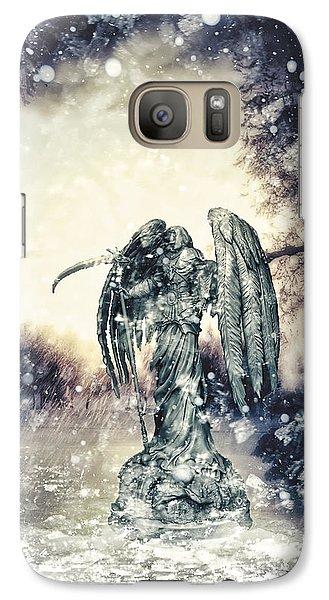 Mo Galaxy S7 Case - Frozen by Mo T