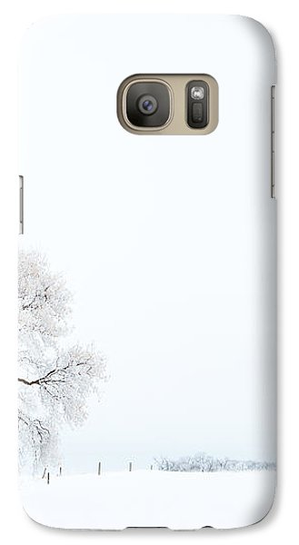 Galaxy Case featuring the photograph Frozen Morning by Yvette Van Teeffelen