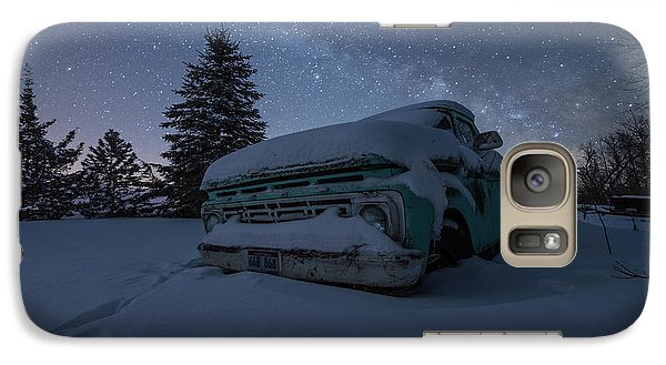 Galaxy Case featuring the photograph Frozen Rust  by Aaron J Groen