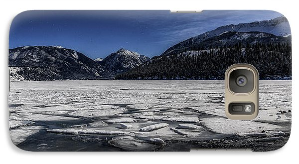 Galaxy Case featuring the photograph Frozen Wallowa Lake by Cat Connor