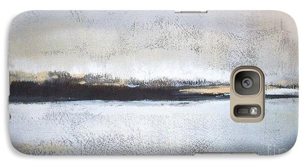 Abstract Galaxy S7 Case - Frozen Winter Lake by Vesna Antic