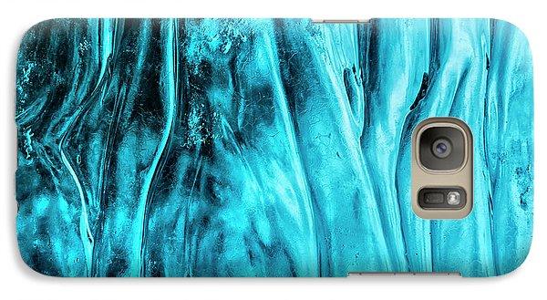 Galaxy Case featuring the photograph Frozen Wonder by Sandra Bronstein