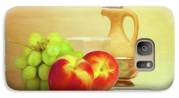 Fruit And Dishware Still Life Galaxy S7 Case