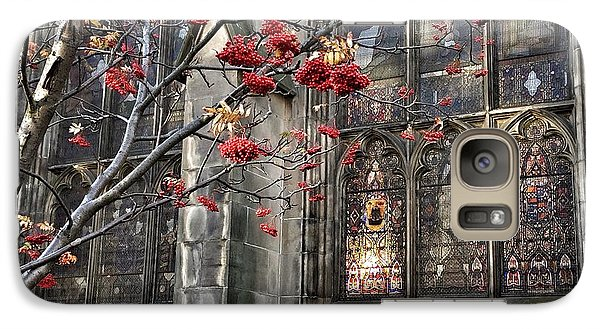 Galaxy Case featuring the photograph Fruit By The Church by RKAB Works