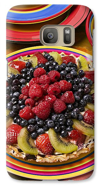 Fruit Tart Pie Galaxy S7 Case by Garry Gay