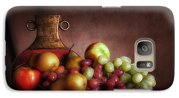 Fruit With Vase Galaxy S7 Case by Tom Mc Nemar