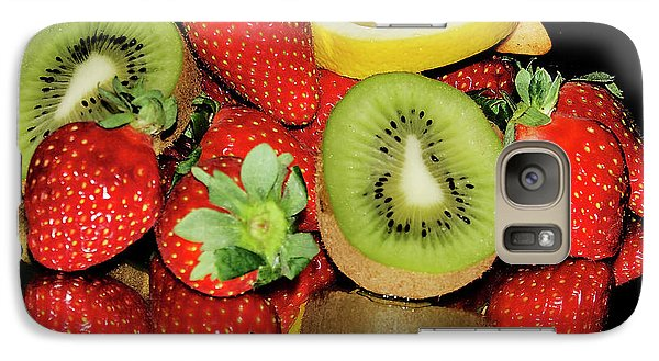Galaxy Case featuring the photograph Fruits by Elvira Ladocki