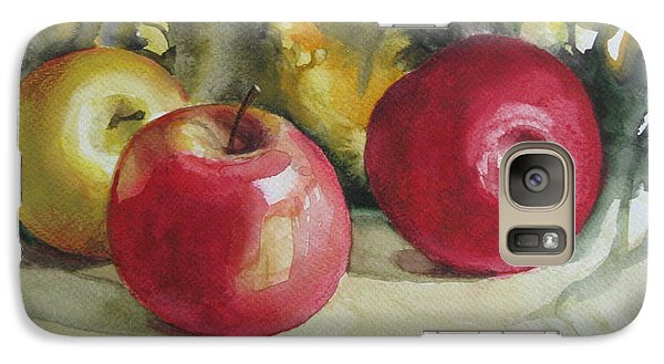 Galaxy Case featuring the painting Fruits Of The Earth by Elena Oleniuc