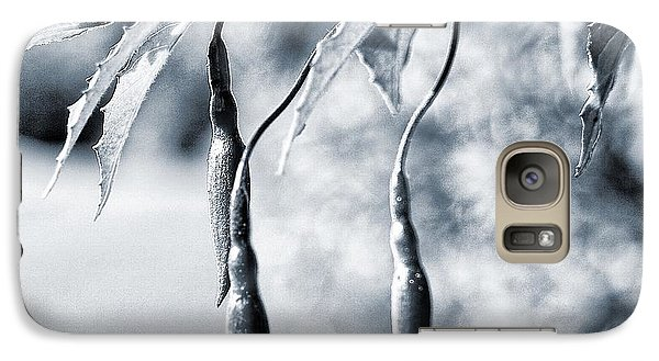 Galaxy Case featuring the photograph Fuchsia Bud by Keith Elliott