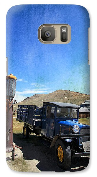Fuelin' Up Galaxy Case by Laurie Search