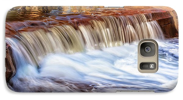 Galaxy Case featuring the photograph Full Flow, Noble Falls, Perth by Dave Catley