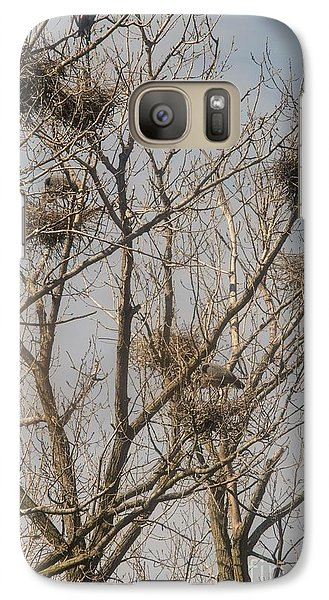 Galaxy Case featuring the photograph Full House by David Bearden