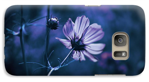 Galaxy Case featuring the photograph Full Moon Cosmos by Douglas MooreZart