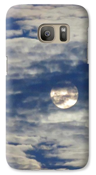 Full Moon In Gemini With Clouds Galaxy S7 Case