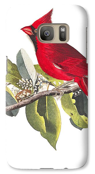 Galaxy Case featuring the photograph Full Red by Munir Alawi