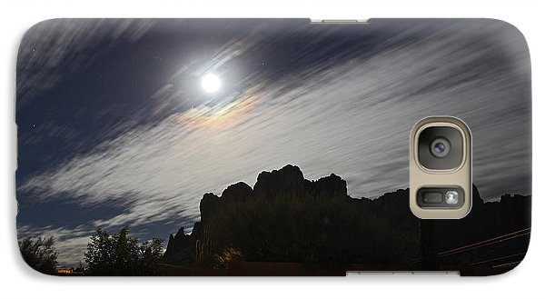 Galaxy Case featuring the photograph Full Streak by Gary Kaylor
