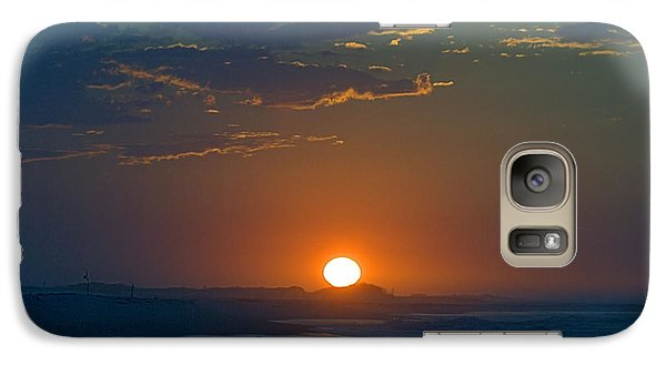 Galaxy Case featuring the photograph Full Sun Up by  Newwwman