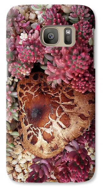 Fungus And Succulents Galaxy S7 Case