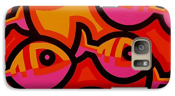 Funky Fish Iv Galaxy S7 Case by John  Nolan
