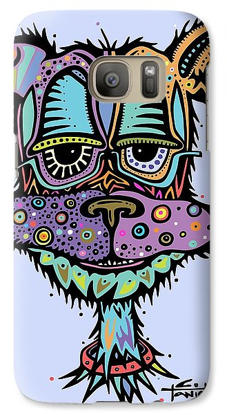 Galaxy Case featuring the drawing Furr-gus by Tanielle Childers