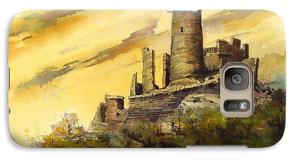 Castle Galaxy S7 Case - Furstenburg On The Rhine by Sam Sidders